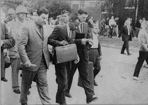 The Daily Mississippian photograph of James Meredith at UM