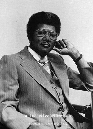 Dr. Lucius Williams Jr.