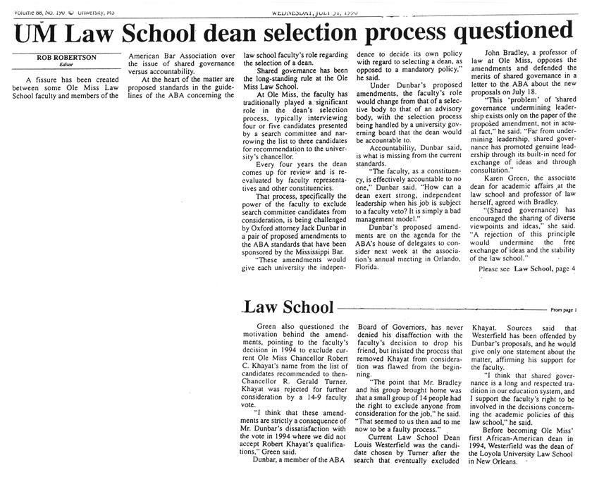 Deanselectioncontroversycop