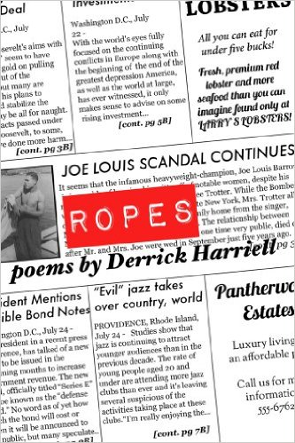 Ropes: Poems by Derrick Harriell, Aquarius Press/Willow Books